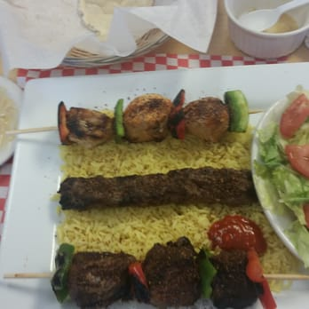 Middle East Restaurant Menu Abilene Tx