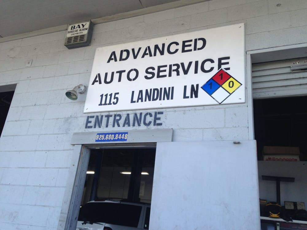 advanced auto services 13 rese as talleres mec nicos 1115 landini ln concord ca estados. Black Bedroom Furniture Sets. Home Design Ideas
