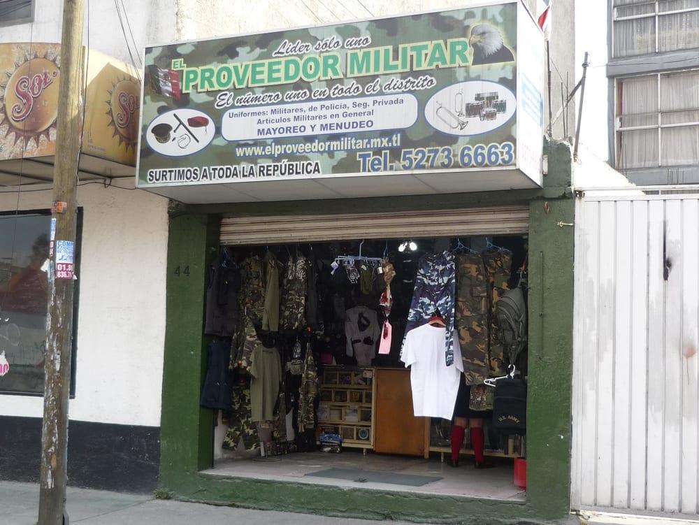 El Proveedor Militar - Uniformes - Calle Cuatro 44 4cfbdb8f578