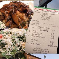 Joes Italian Restaurant 82 Photos 160 Reviews Italian 1604