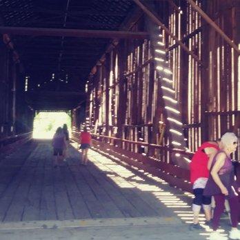 Honey Run Covered Bridge - CLOSED - 16 Photos - Landmarks