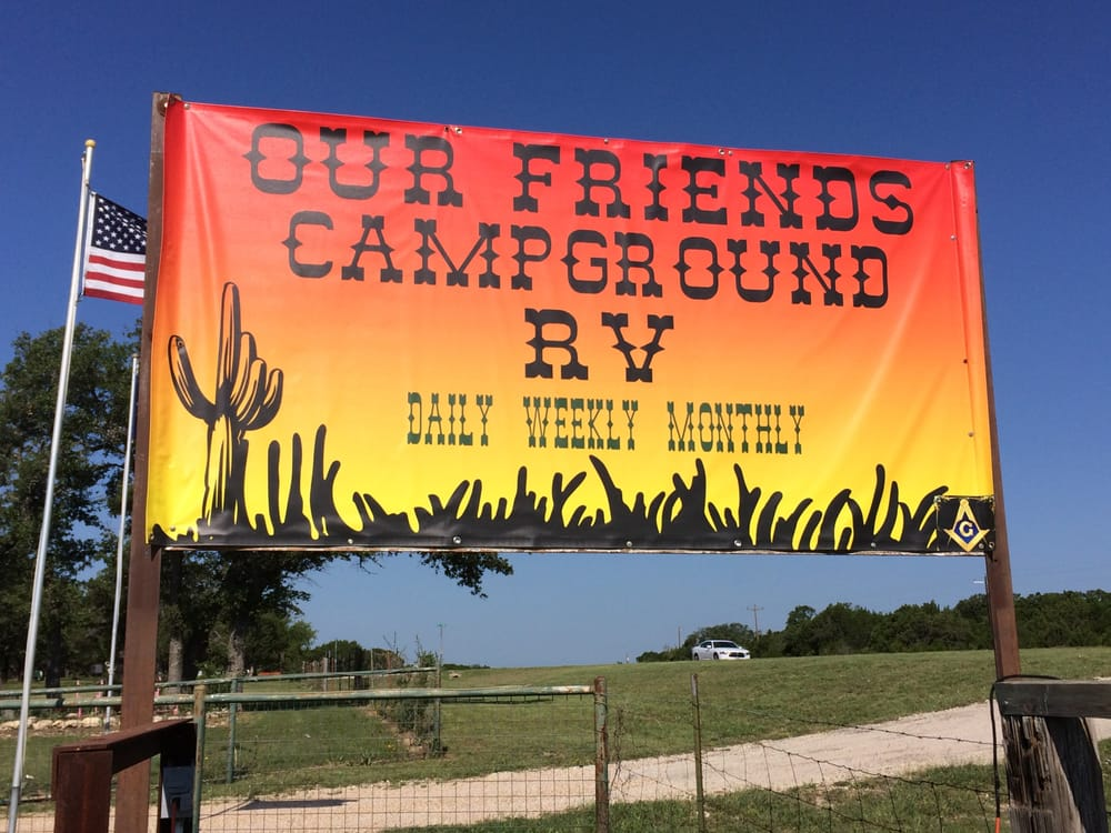 Our Friends Campground: 7360 E Highway 190, Lampasas, TX