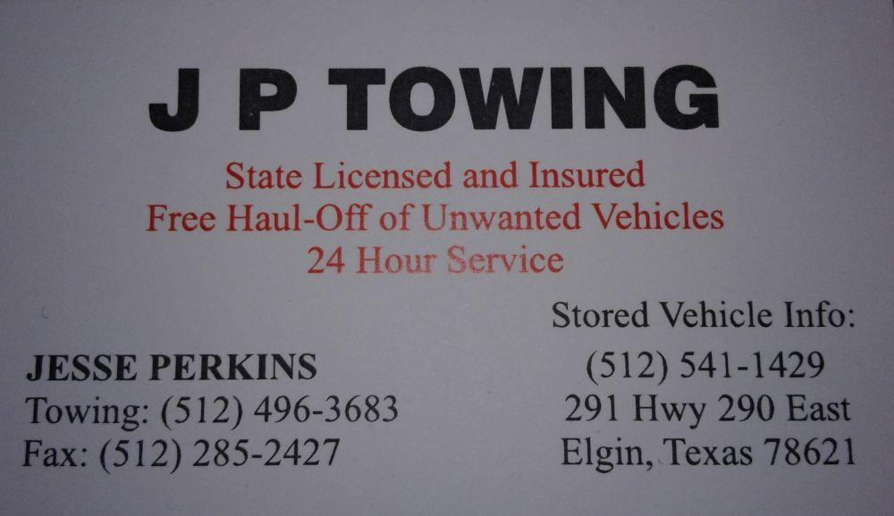 Towing business in Elgin, TX
