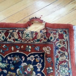 Photo Of Persico Oriental Rugs Sterling Va United States Before Repair