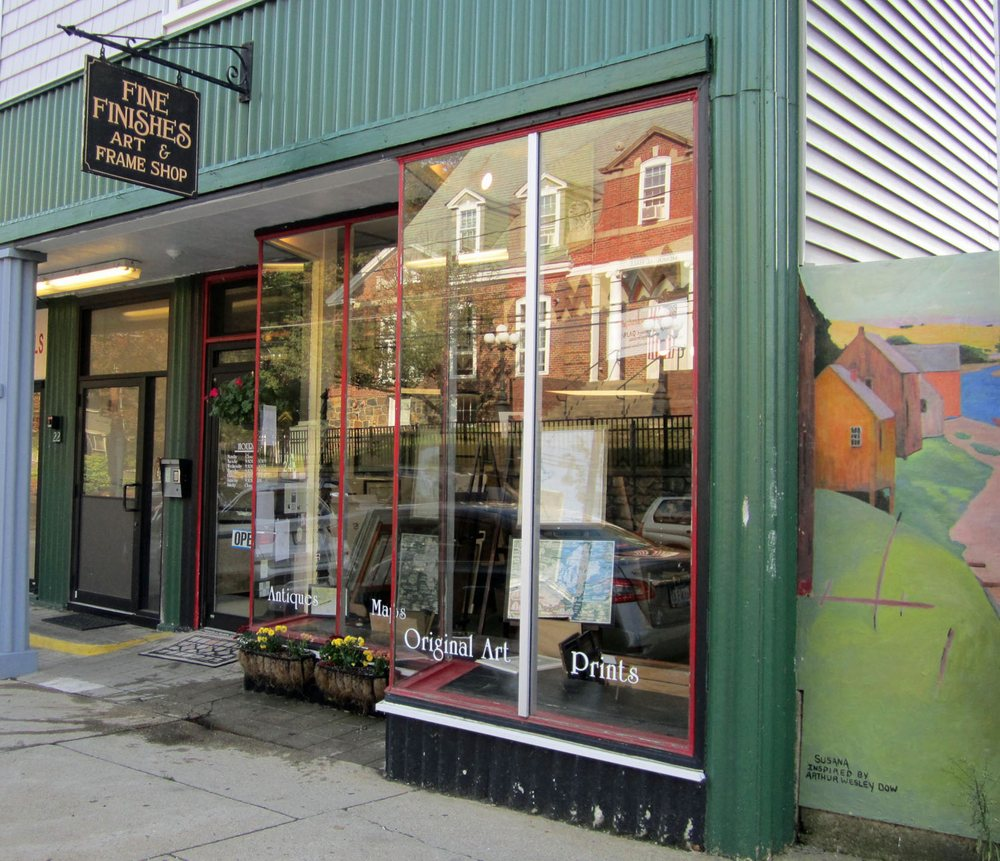 Fine Finishes Art & Frame Shop: 24 Central St, Ipswich, MA