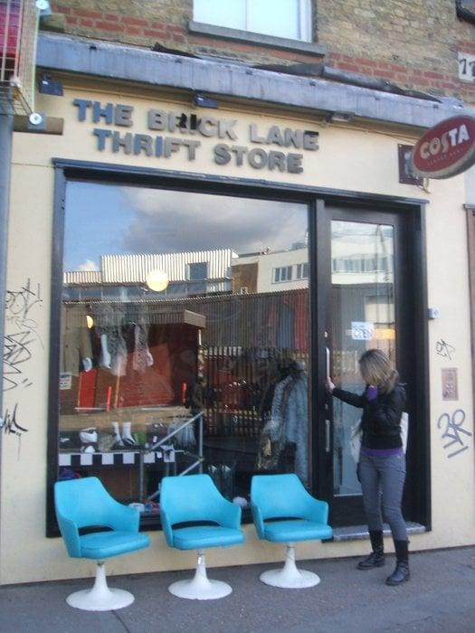 Lane clothing store