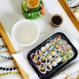Sakura Japanese Cuisine - Astoria, NY, United States. Takeout lunch special! Only $10.99 :O