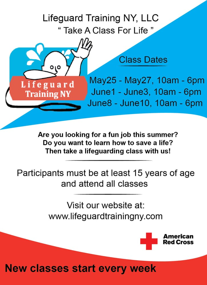 Lifeguard Training NY: 181 Briarwood Crossing, Lawrence, NY
