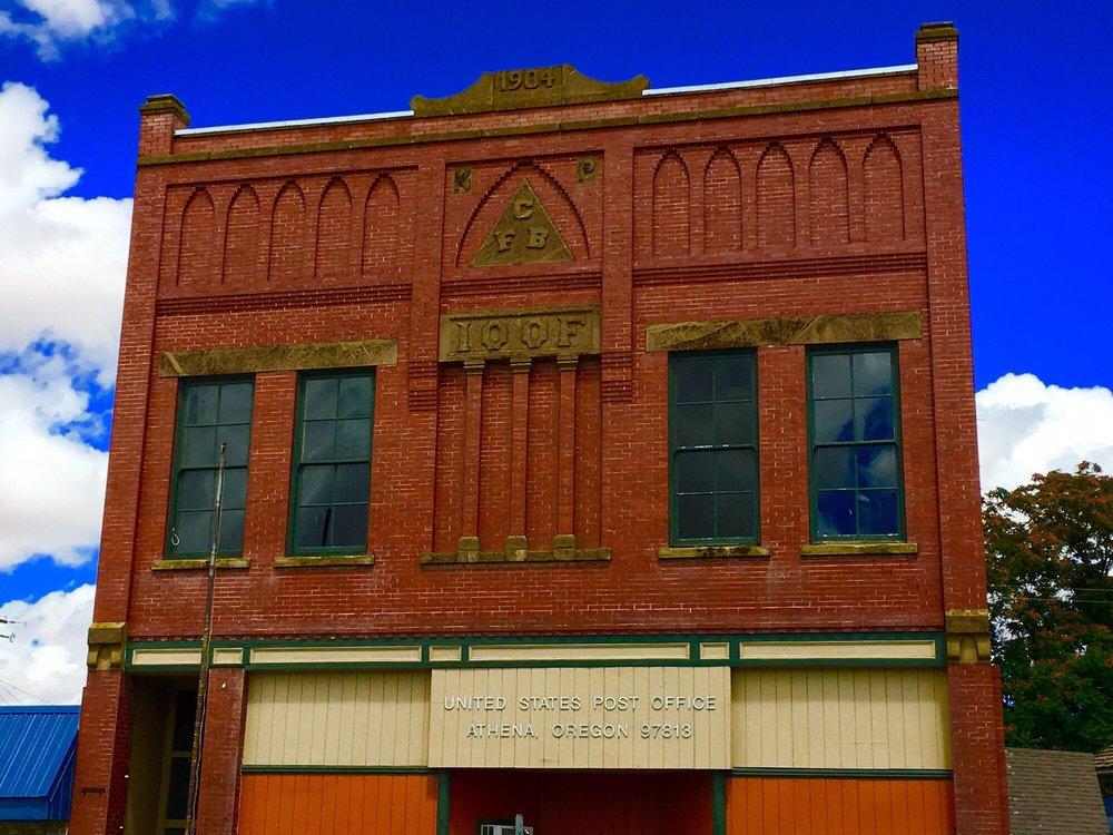 US Post Office: 345 E Main St, Athena, OR