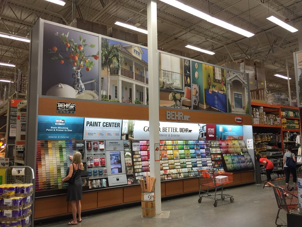 Home Depot New Tampa Address