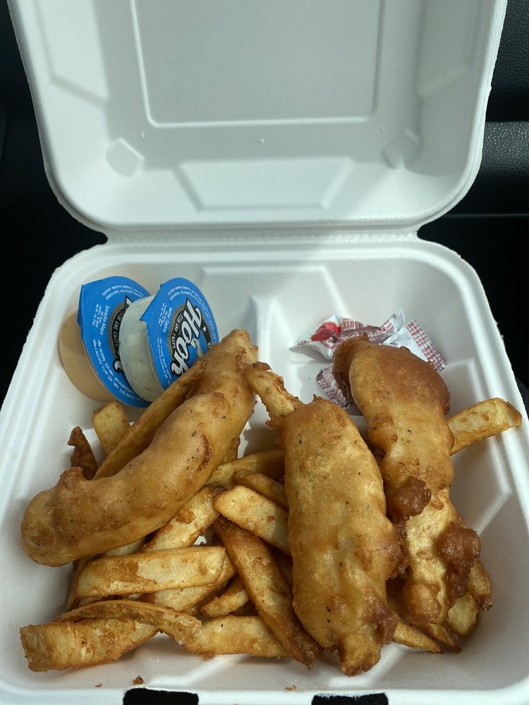 On the Hook Fish And Chips: 698 North Lagoon Dr, Farmington, UT