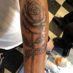 2359e8840 Photo of Unlimited Tattoo - Azusa, CA, United States. This tattoo looks  super