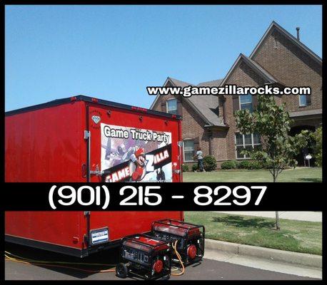 Gamezilla - Game Truck Party