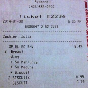 Fast Food In Redmond Wa