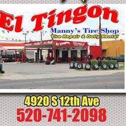 El Tingon Tire Shop Wheel Rim Repair 5160 S 12th Ave Tucson