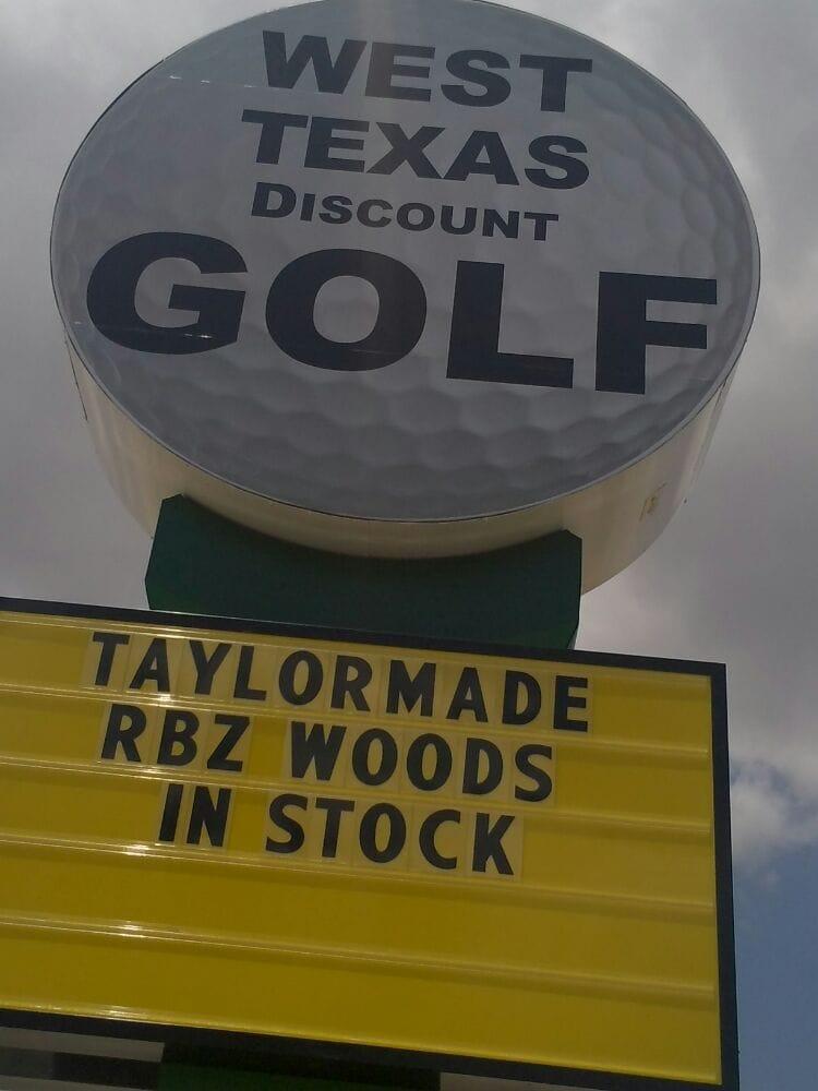 West Texas Discount Golf: 1885 Industrial Blvd, Abilene, TX