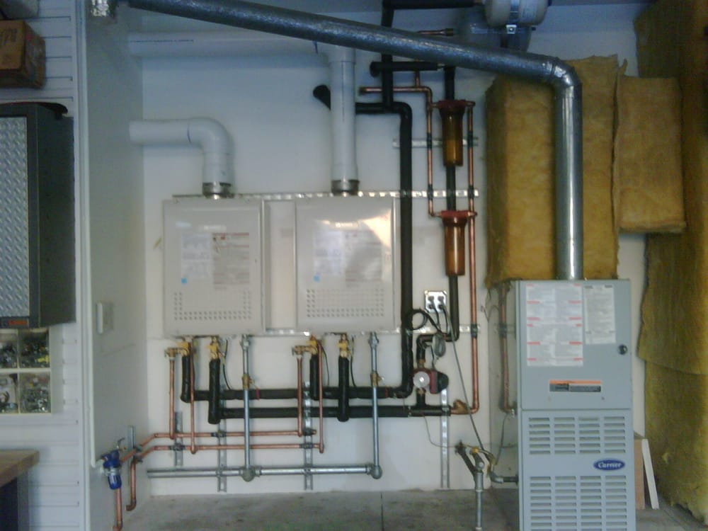 Dual Noritz Residential Tankless Water Heater