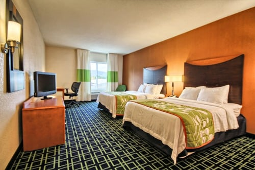 Fairfield Inn & Suites Lock Haven: 50 Spring St, Lock Haven, PA
