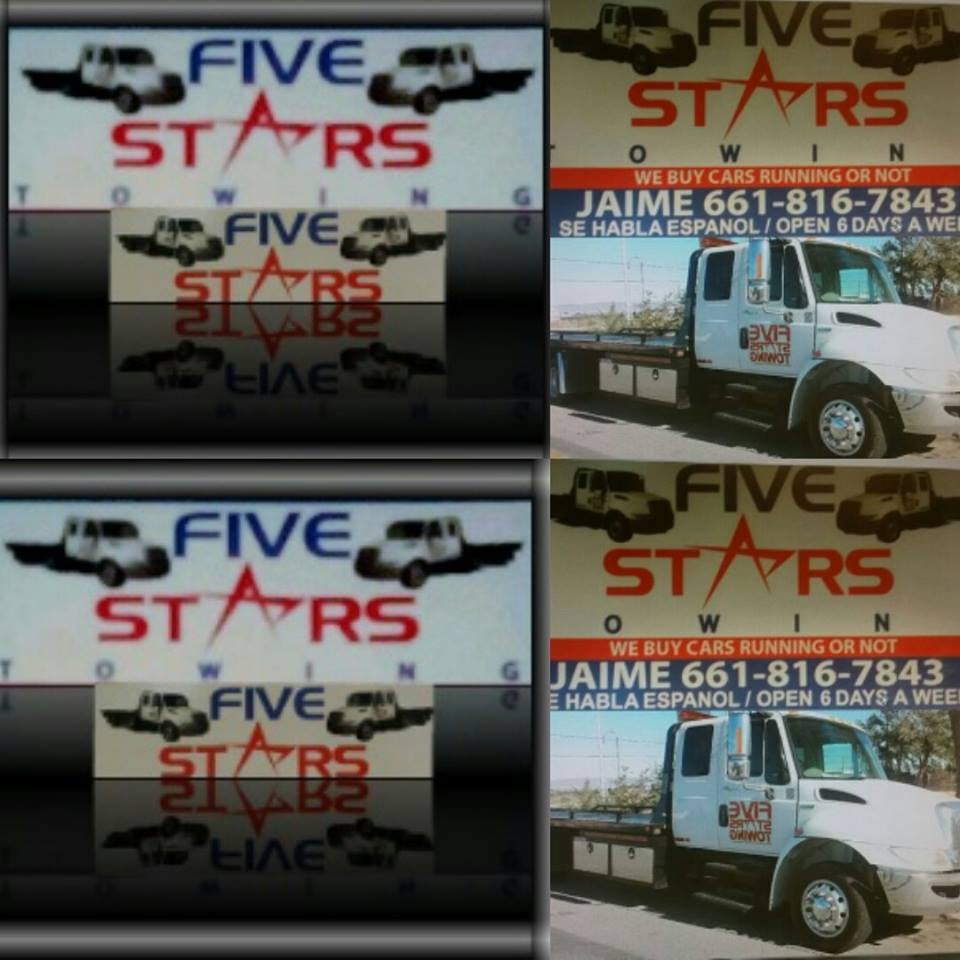 WE BUY JUNK CARS AND TRUCKS SUV CALL US FOR A TOW... FIVE STAR AUTO ...