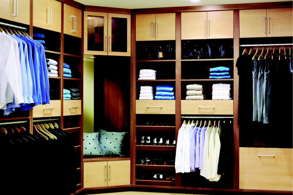 Photo Of Vermont Custom Closets   Williston, VT, United States. Two Tone