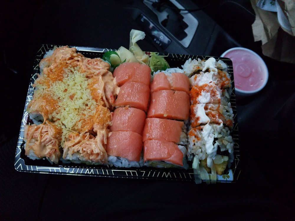 Food from Fancy Sushi Bar & Grill