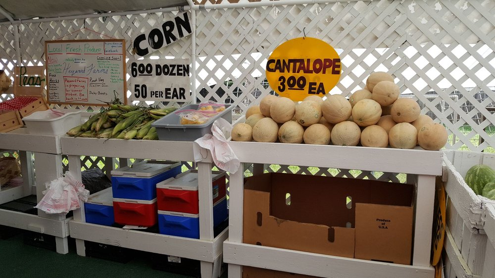 Crazy Lady Produce Stand