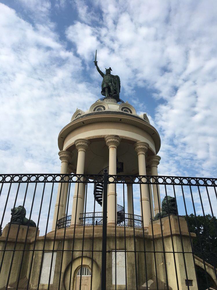 Herman Monument: 110 Monument St, New Ulm, MN