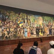 Murales De Diego Rivera Museo