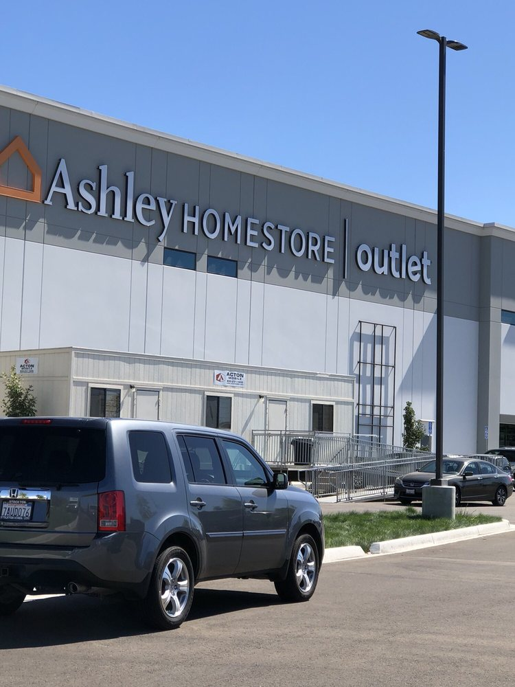Ashley Homestore Outlet In Lathrop Ca You Can See The Store From I