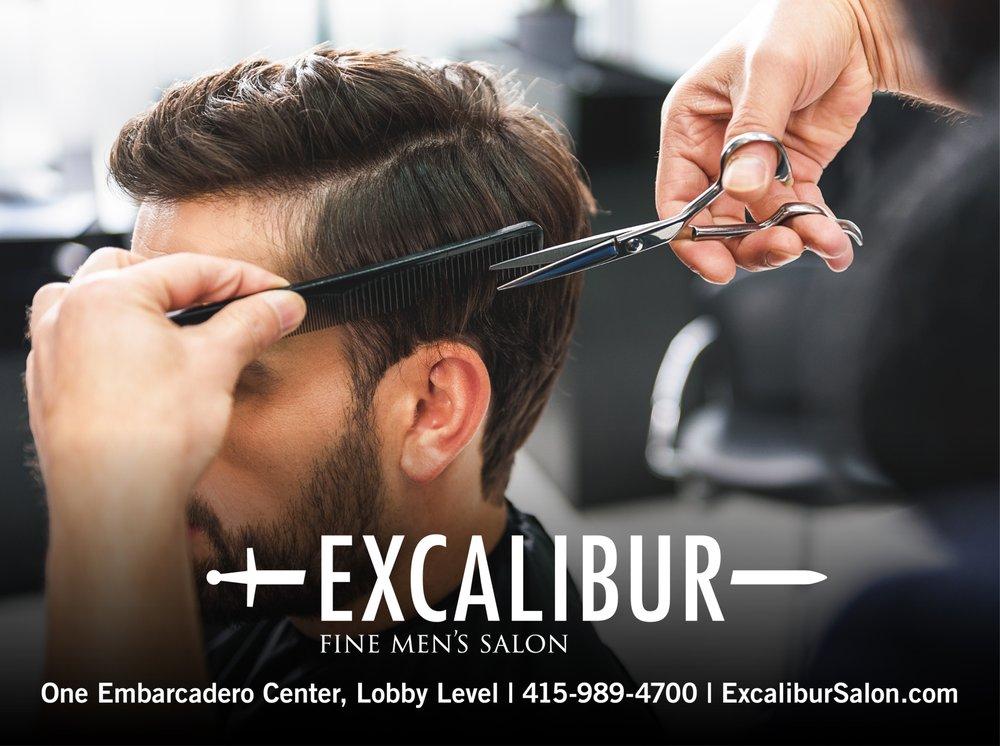 Excalibur Fine Men's Salon - 1 Embarcadero Ctr, Financial