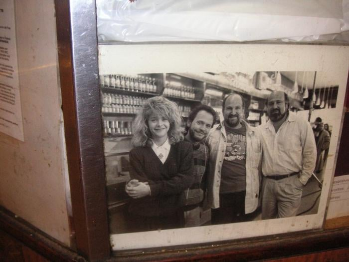 When harry met sally cast picture by the cashier booth yelp photo of katzs delicatessen new york ny united states when harry met sciox Image collections