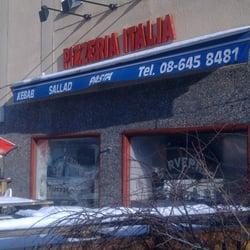 pizzeria italia vårgårda meny