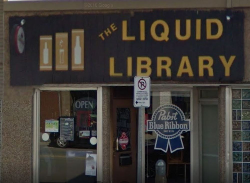 The Liquid Library: 2135 Wyandotte Street W, Windsor, ON