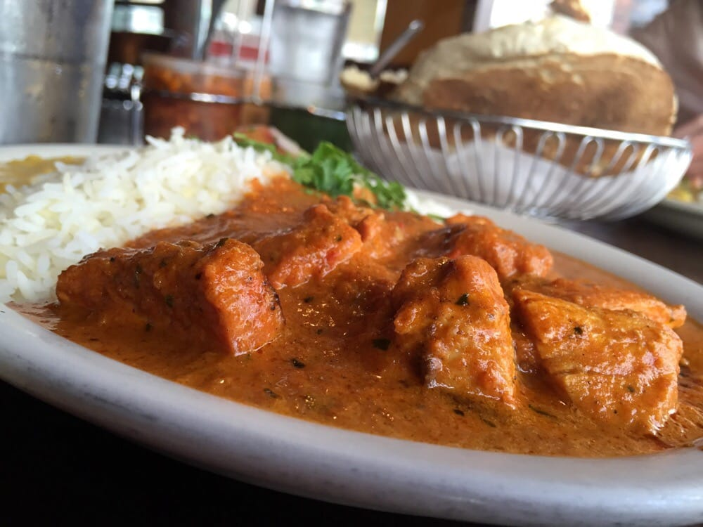 Chicken tikka masala lunch special no filter yelp for Art cuisine tahiti