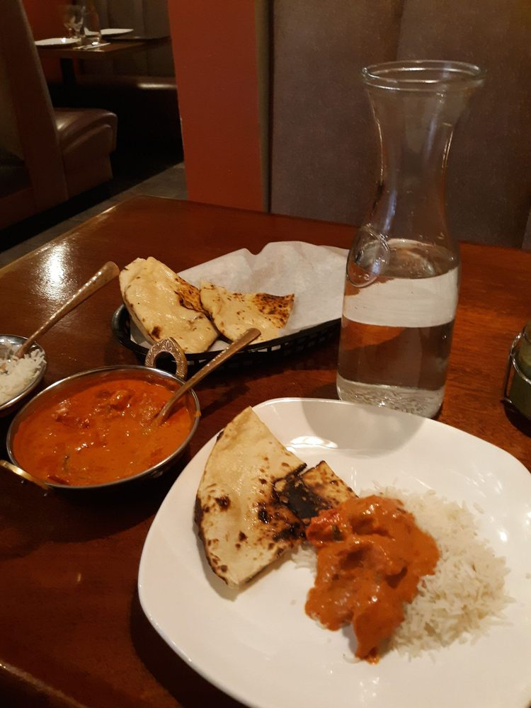 Food from Karma Indian Cuisine