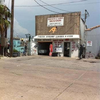 Sampson son s seafood 12 reviews seafood markets for Galveston fish market
