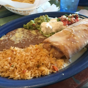 Photo Of Tampico Mexican Restaurant Parkersburg Wv United States Chimichanga