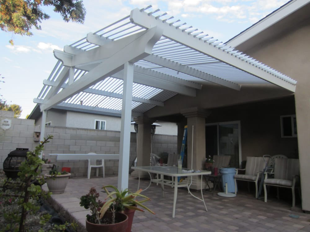 Gabled Solara Adjustable Patio Cover Yelp