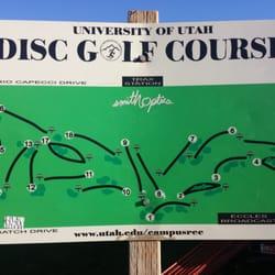 University of Utah Disc Golf Course - Disc Golf - 101 S