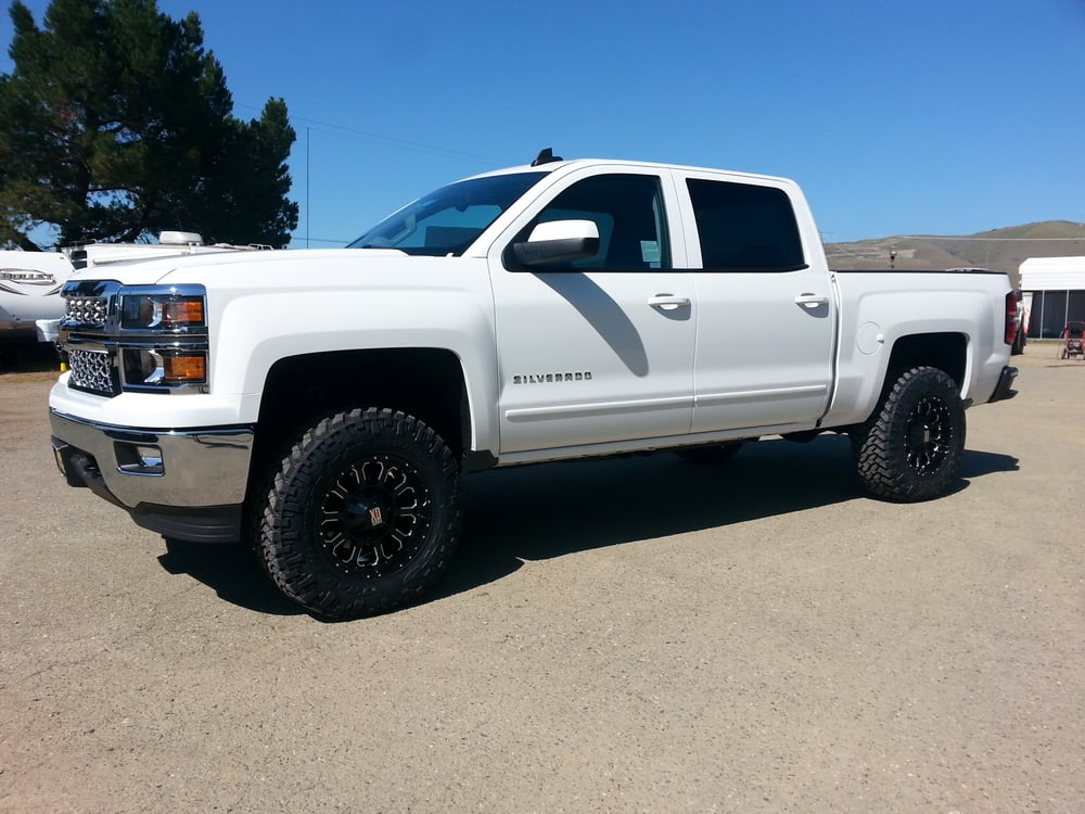 2015 Chevy Silverado 1500 4 Quot Lift Kit 18 Quot Wheels On 34