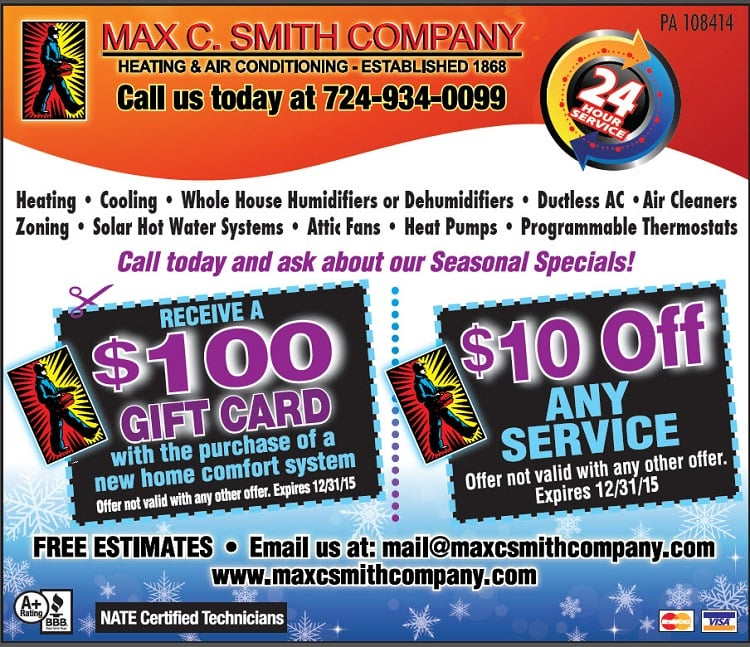 Max C Smith Co: 3804 Gibsonia Rd, Gibsonia, PA