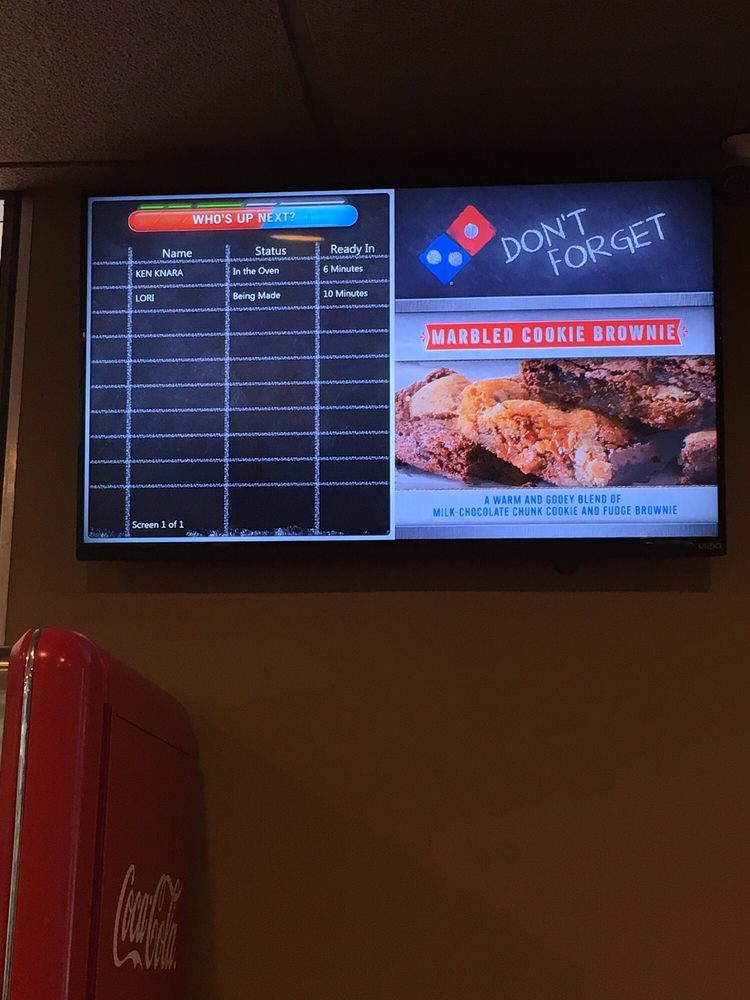 Great service... and on Christmas Day!! Didn't realize Dominos had ...