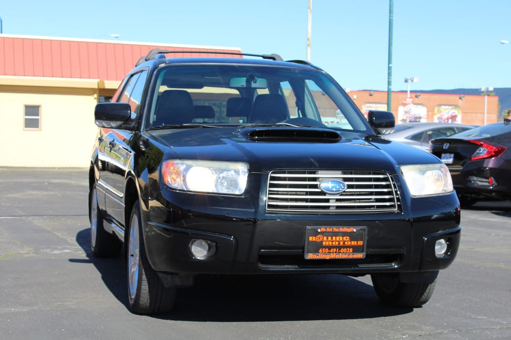 2007 subaru forester xt limited 5 speed manual 93k miles