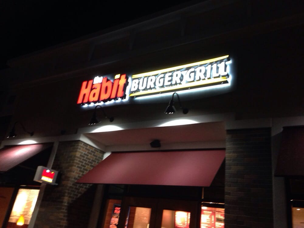 Storefront Of The Habit Burger Grill Yelp
