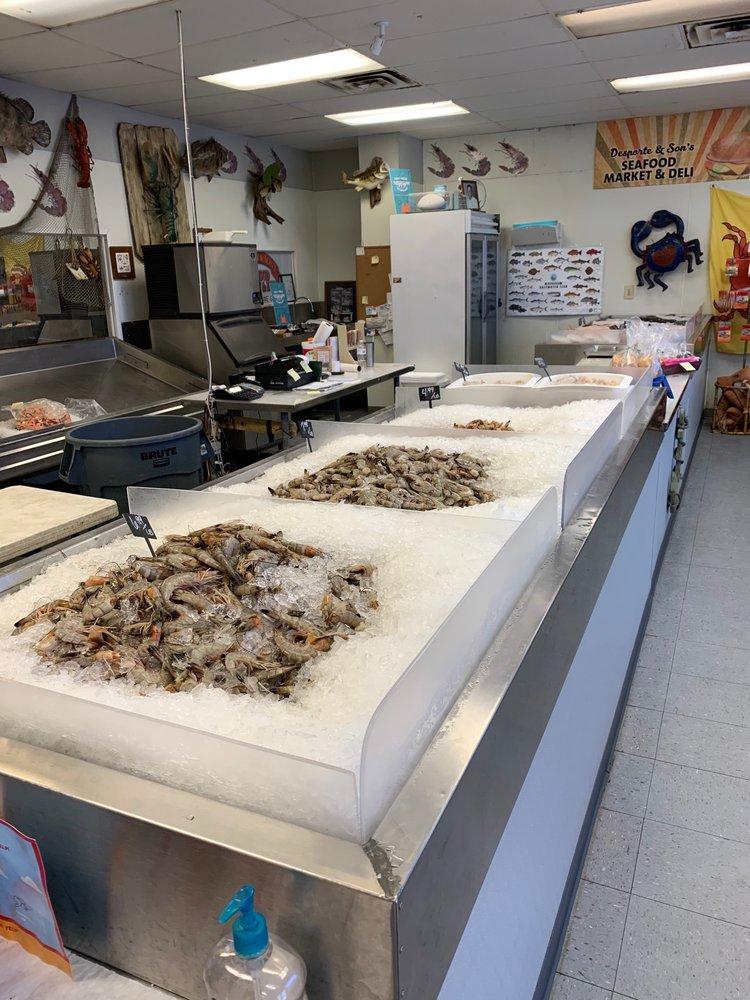 Desporte & Sons Seafood: 1075 Division St, Biloxi, MS