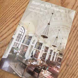 Photo of Boston Athenaeum - Boston, MA, United States. 2015 Open House  brochure