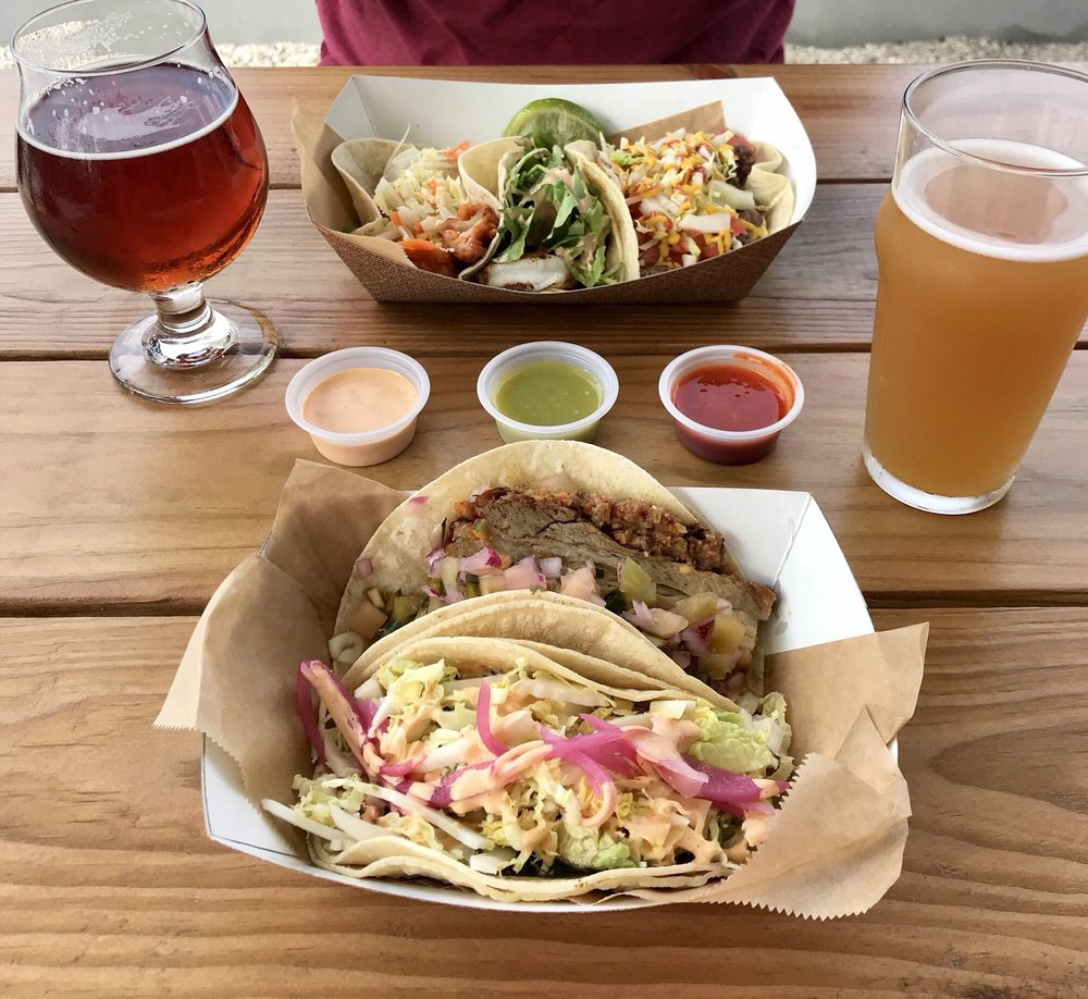 Food from Osprey Tacos