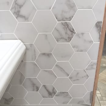 Photo Of Tile Berkeley Ca United States Faux Marble Honeycomb Tiles