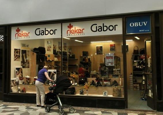 Gabor and Rieker - Shoe Stores - Václavské náměstí 28 3cb47580204