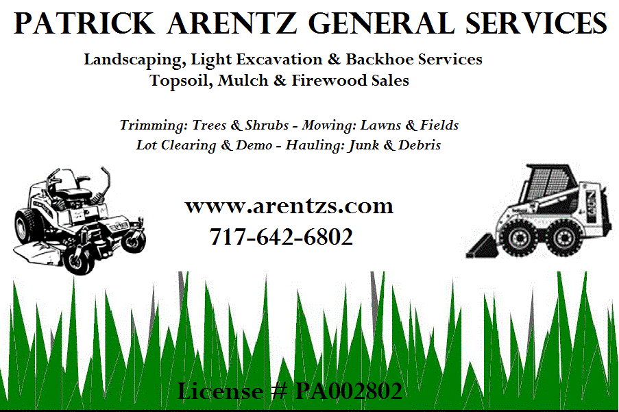 Arentz General Services: 1734 Tract Rd, Fairfield, PA